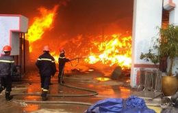 Đã dập tắt đám cháy tại Hải Dương