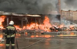 Nga: 9 người thiệt mạng trong vụ cháy chợ Kazan