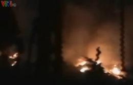 12 người chết do cháy nhà máy pháo hoa ở Ấn Độ