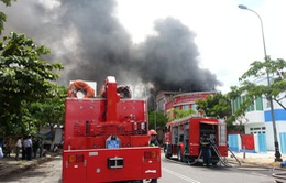 Xác định nguyên nhân vụ cháy kinh hoàng kho sơn ở Đà Nẵng
