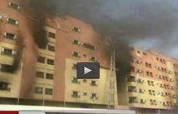 Arab Saudi: Cháy các tòa nhà lao động nước ngoài, hơn 200 người thương vong