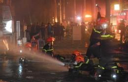 'Không có nạn nhân tử vong trong vụ cháy khu đô thị Xa La'