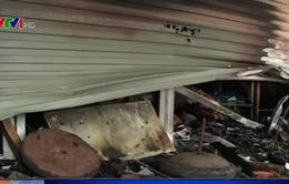 Thái Nguyên: Cháy cửa hàng tạp hóa, 2 người thiệt mạng