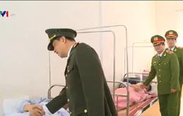 52 chiến sỹ phải điều trị trong vụ cháy container phốt pho tại Hải Phòng