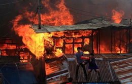 Hơn 20 người thương vong trong vụ hỏa hoạn tại Philippines