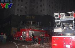 Cháy chung cư 25 tầng ở Hà Nội, hàng trăm người dân tháo chạy
