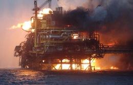 Mexico: Cháy giàn khoan dầu, ít nhất 4 người thiệt mạng