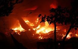 Quảng Bình: Cháy lớn tại chợ Ba Đồn