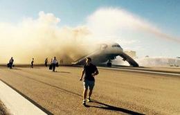 Máy bay của British Airway bị cháy khi chuẩn bị cất cánh