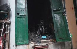 Cháy lớn ởHà Nội: Thoát chết nhờ cửa thông gió