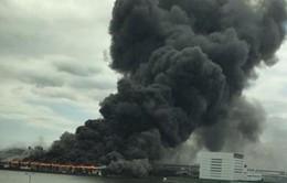Cháy lớn nhà máy thép gần sân bay Haneda, Tokyo