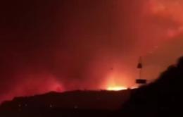Cháy rừng ở California (Mỹ), hàng chục gia đình phải sơ tán