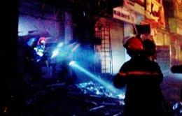 Hà Nội: Hỏa hoạn tại phòng giao dịch ngân hàng