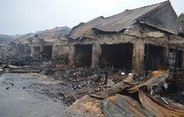 Quảng Bình: Hỗ trợ tiểu thương bị ảnh hưởng do cháy chợ