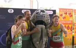"""Giải """"Chạy vì tê giác"""" - Cam kết mạnh mẽ của Việt Nam trong cuộc chiến bảo vệ các loài tê giác"""