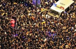 Toàn cảnh vụ giẫm đạp trong lễ đón năm mới 2015 tại Thượng Hải
