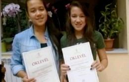 Hai chị em gốc Việt đoạt giải thưởng lớn tại Hungary