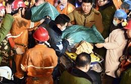 Vụ sập hầm thạch cao tại Trung Quốc: Đã giải cứu thành công 11 nạn nhân