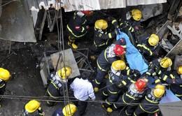 Nổ bình gas ở nhà hàng khiến 17 người thiệt mạng tại Trung Quốc