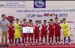 Hải Dương bảo toàn ngôi vô địch giải bóng đá nhi đồng toàn quốc 2015
