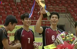 Biên Phòng giành ngôi vương giải bóng chuyền Cúp PV - Đạm Cà Mau 2015