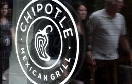 Cổ phiếu Chipotle mất gần 5% giá trị