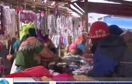 Nhộn nhịp chợ Tết Cán Cấu, Lào Cai