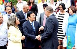 Chủ tịch nước gặp gỡ các đại biểu dự Hội nghị châu Á - Thái Bình Dương