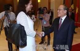 Chủ tịch Thượng viện Vương quốc Bỉ thăm chính thức Việt Nam