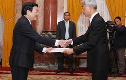 Chủ tịch nước tiếp Đại sứ Thái Lan
