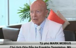 Tỷ phú Mỹ Mark Mobius mở rộng đầu tư tại Việt Nam