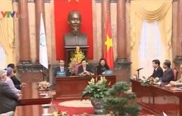 Chủ tịch nước Trương Tấn Sang tiếp Ban Chấp hành IPU