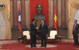 Chủ tịch nước Trương Tấn Sang tiếp Phó Thủ tướng Lào