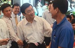Chủ tịch nước chúc Tết tại Long An