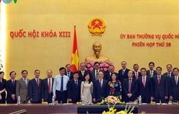 Chủ tịch Quốc hội tiếp Trưởng các cơ quan đại diện Việt Nam ở nước ngoài