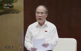 Chủ tịch Quốc hội Nguyễn Sinh Hùng: Trả lời của Phó Thủ tướng đã đi thẳng vào vấn đề