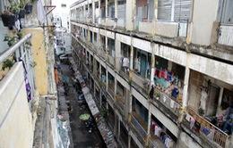 TP.HCM: Di dời khẩn cấp người dân trong các chung cư cũ nát