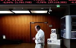 Thị trường chứng khoán Hy Lạp giảm hơn 22%