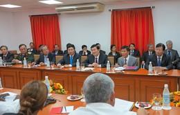 Chủ tịch nước thăm dự án sản xuất lúa gạo tại Cuba