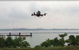Singapore thử nghiệm chuyển phát nhanh bằng thiết bị bay không người lái