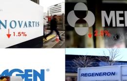 Cổ phiếu ngành dược bị bán tháo trên TTCK Mỹ