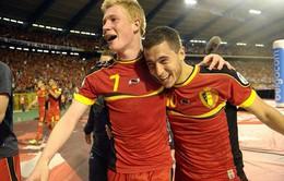 Thế hệ vàng của ĐT Bỉ muốn viết nên lịch sử tại Euro 2016