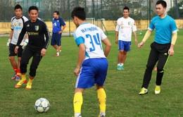 CLB Hà Nội sẵn sàng cho giải Hạng nhất quốc gia 2015