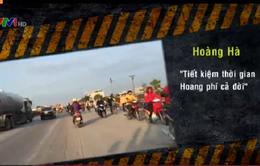 Đi ngược chiều trên Quốc lộ: Thói quen chỉ bỏ khi gặp tai nạn