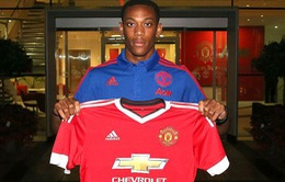 Ngày cuối chuyển nhượng Hè 2015: Man Utd chính thức sở hữu Martial