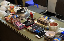 Hà Nội: Phá đường dây cung cấp thiết bị cờ bạc bịp