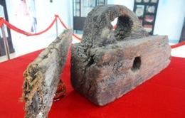 Khai trương phòng trưng bày di vật tàu đắm Cù Lao Chàm