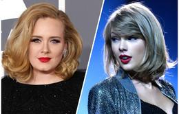 Taylor Swift ở đâu khi Adele lên tiếng?