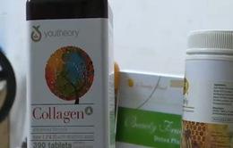 Tràn lan sản phẩm collagen làm đẹp không rõ nguồn gốc