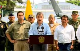 Comlombia nối lại các cuộc không kích chống FARC